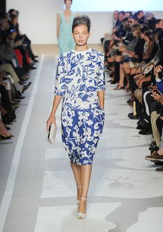 DVF. I love this look! Reminds me of french country.