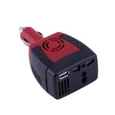 Car inverter Power Car Power inverter DC To AC Transformer Laptop Notebook Phone Charger Universal USB Cool Electronics, Electronics Projects, Charger Adapter, Phone Charger, Power Cars, Electrical Outlets, Notebook Laptop, Portable, Usb Flash Drive