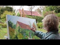 Se lancer dans la peinture sur grand format en plein air ! - YouTube