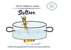 Scottare | Termine della cucina italiana | Abc della cucina italiana Tableware, Dinnerware, Tablewares, Dishes, Place Settings