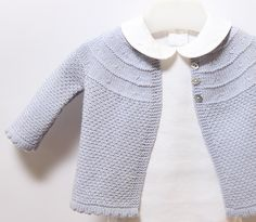 Ravelry: Baby Jacket pattern by Florence Merlin