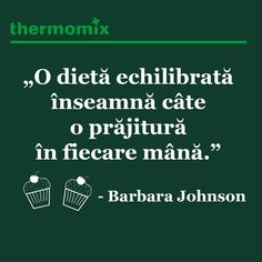 CITATUL ZILEI 📗  #thermomix #tm5 #thermomixromania #food #love #happiness #citat #citatulzilei #quote #quoteoftheday #dieta #prajitura #barbarajohnson Barbara Johnson, Quote Of The Day, Happiness, Happy, Quotes, Food, Thermomix, Quotations, Meal