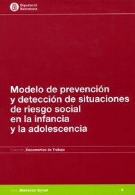 Modelo de prevención y detección de situaciones de riesgo social en la infancia y la adolescencia