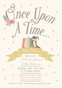 Free printable baby shower invitations for freeeeee pinterest once upon a time baby shower invitation filmwisefo