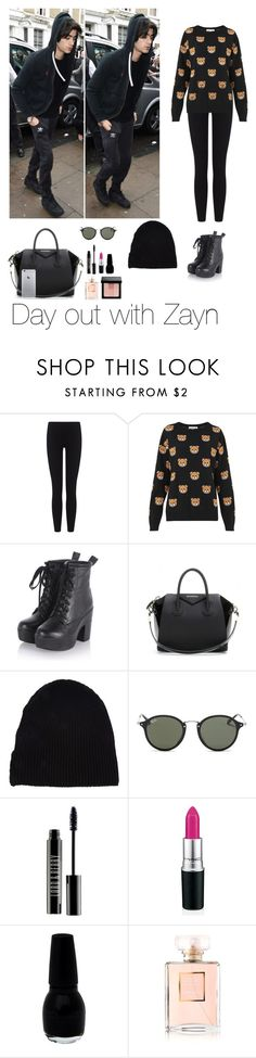 """Day out with Zayn"" by famouslife13 ❤ liked on Polyvore featuring James Perse, Moschino, Givenchy, Yves Saint Laurent, Ray-Ban, Lord & Berry, Chanel, Bobbi Brown Cosmetics, OneDirection and outfit"