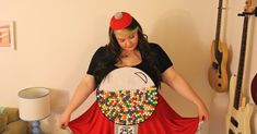 Oh, hello. You didn't think I was going to let Halloween pass without an update did you? Of course not. I'll just say it: it's unrea. Gumball Machine Costume, Diy Gumball Machine, Diy Halloween Costumes, Halloween Halloween, Fall Season, Neon, November 2015, Cupcake Ideas, Autumn