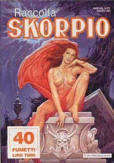 Fumetti EDITORIALE AUREA, Collana SKORPIO RACCOLTA n°271 MARS 1997