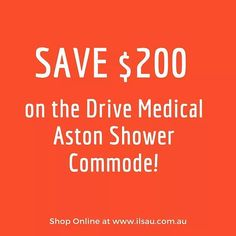 The Aston Shower commode and hygiene chair is a multipurpose solution for a patient's toileting and showering requirements. The commode chair is perfect for everyday use and features armrests that flip up for side transfers    Shop online now : http://ilsau.com.au/product/drive-medical-aston-shower-commode-self-propelling/    #IndependentLivingSpecialists #ILS #MoblitySolutions #MobilitySolutionsAustralia #BathAids #ShowerCommodes #ToleitAids