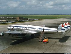 "PH-LDE (cn 2641) Lockheed L-749A Constellation ""Utrecht"" in KLM service 1950-1963.Photo by TripIET via Airliners.net"