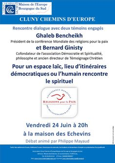 Conférence de Cluny chemins d'Europe le 24 juin 2016 à Cluny : http://clun.yt/23eszcj
