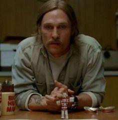 True Detective, Matthew McConaughey, Rust Cohle