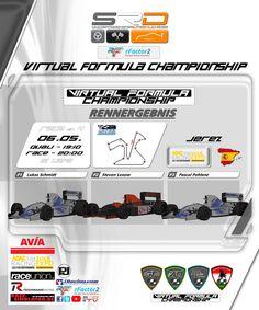 "Siegerehrung VFC Race IV in Jerez ""Schmidt vs Lexow mit gutem Ende für den ACR-Zakspeed Fahrer Lukas Schmidt""    #ACRZakspeed #DGGYoungGeneration #F1 #Lexow #NewmanRacingTeam #RazorGP #Schmidt #ShadowRacingTeam #SupersonicFalcon #VFC #VirtualFormulaChampionship"
