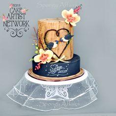 Rustic Floral Cake