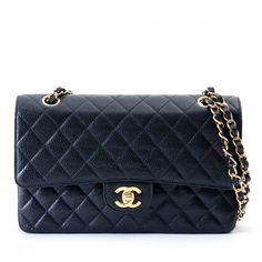7ac92e22a2 Sacs à main Chanel TIMELESS CLASSIC 25 BLACK CAVIAR Cuir Noir ref.100241 -  Joli