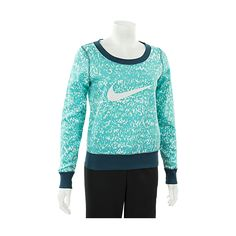 Nike Women's Club AOP Crewneck