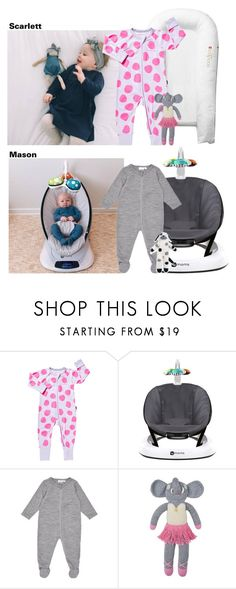 """04.27.17//Day with Aunt Hailey: Around The House"" by littlekidsfashion ❤ liked on Polyvore featuring 4moms"