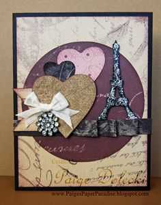 La Belle Vie Paper Pack with CTMH Artiste and Art Philosophy Cartridge  Created by Paige Dolecki  www.PaigesPaperParadise.blogspot.com