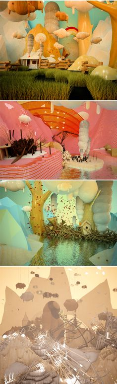 Choose your own adventure. Then go build it! 3D environments built by Canadian artist Alex Mcleod. To see more amazing environments go to www.alxclub.com
