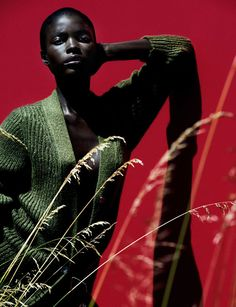 Jeneil Williams for Vogue Germany by Julia Noni