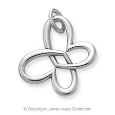 James Avery Linked Heart Butterfly - $56
