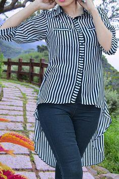Stripe line stylish shirt