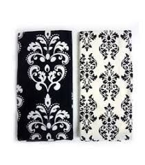 Image result for black swirly hand towels