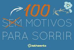 100 motivos para sorrir