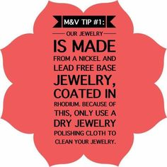 How To Take Care Of Your Magnolia and Vine Jewelry...