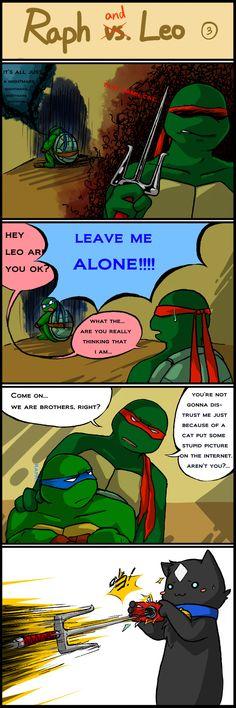 TMNT comic strip 3 by Colend