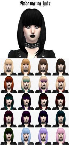 Jenni Sims: Pastel Goth Headband • Sims 4 Downloads ...