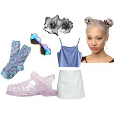"""""""no time for chit chat"""" by w-oah on Polyvore"""