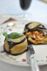 Blog di cucina di Aria: Timballino vegetariano di anelletti siciliani