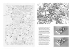 Image 26 of 43 from gallery of 2015 RIBA President's Medals Winners Announced. RIBA Silver Medal: Finn Wilkie (Mackintosh School of Architecture). Image Courtesy of RIBA Architecture Portfolio Layout, Architecture Presentation Board, Architecture Concept Drawings, Architecture Panel, Presentation Layout, Architecture Graphics, Architecture Visualization, Portfolio Design, Presentation Boards