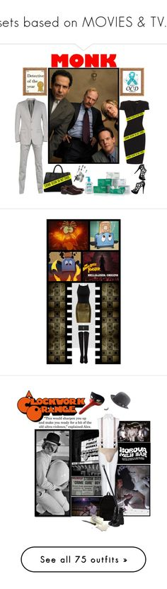 """""""sets based on MOVIES & TV..."""" by irresistible-livingdeadgirl ❤ liked on Polyvore featuring movie, movies, tvshow, TVshows, Z Zegna, Episode, Shield, Prada, Paul Smith and show"""