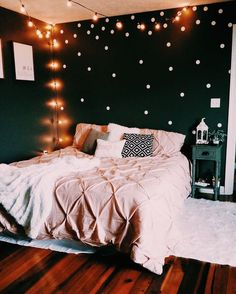 The basics of aesthetic rooms - do it yourself - DIY Wohnen - Decoration Cool Teen Bedrooms, Teenage Girl Bedrooms, Cute Bedroom Ideas For Teens, Girls Bedroom Ideas Teenagers, Dream Rooms, Dream Bedroom, Master Bedroom, Master Suite, Bedroom Bed