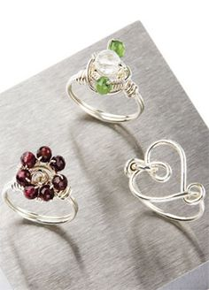 wire rings - Google Search