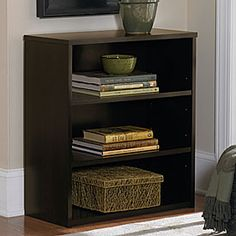 ameriwood dark russet 3shelf bookcase at big lots perfect for shoes