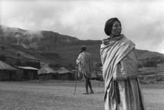 Raymond Depardon  ETHIOPIA. Dilbé, on the road to Lalibela. 1997.