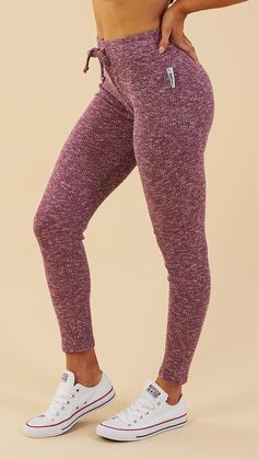 GYM STYLE- Relaxation never felt so good - introducing the Women's Slounge Collection, coming soon in Deep Plum. Sports Leggings, Workout Leggings, Women's Leggings, Leggings Store, Printed Leggings, Cheap Leggings, Sporty Outfits, Cute Outfits, Gym Outfits