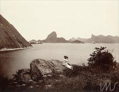 Marc Ferrez - entrada da Baía de Guanabara -1890