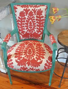 Customizable French Chair by ChairWhimsy on Etsy