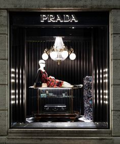 Prada 2013 Christmas Windows