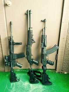 My Colt M4, Benelli M4, AK47. Live Free Or Die!