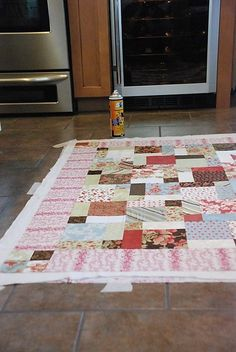 great Machine quilting tutorial. This has great info! This gal is awesome and uses plain language we can all understand!