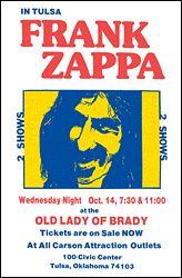 Frank Zappa Tulsa Concer