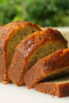 Banana Banana #Bread - This banana bread is moist and delicious with loads of banana flavor!