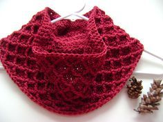 Diamond Crochet Cowl Free Pattern...what a beautiful cowl!