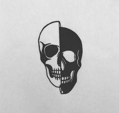 Art Drawings Sketches, Tattoo Sketches, Tattoo Drawings, Tatto Skull, Skull Art, Bild Tattoos, Body Art Tattoos, Abstrakt Tattoo, Tatoo Henna
