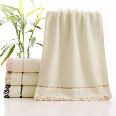 Face Towel for Adults - Off White - Home Styling & More