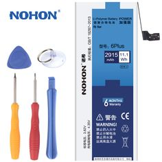 100% Original New NOHON Battery For Apple iPhone 6 Plus 6P Real Capacity 2915mAh With Retail Package Free Repair Machine Tools //Price: $21.65 & FREE Shipping //     #RCCar